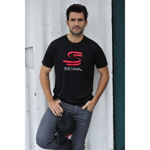 Ayrton Senna T-Shirt Double S black model