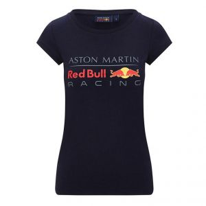 Red Bull Racing T-Shirt Logo Damen blau