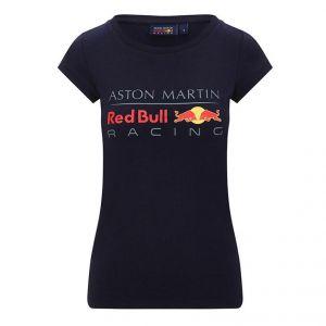 Red Bull Racing T-Shirt Logo Dames bleu