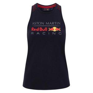 Red Bull Racing Top azul de mujer