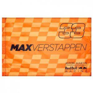Red Bull Racing Drapeau du ventilateur du conducteur Verstappen orange