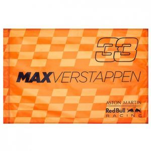 Red Bull Racing Team Driver Fan Flag Verstappen Orange