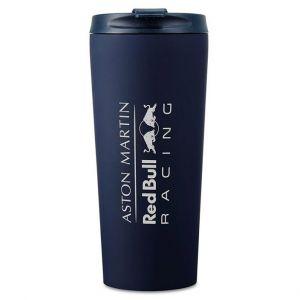 Red Bull Racing Team Logo Thermosbecher Marineblau