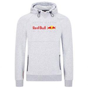 Red Bull Racing Felpa con cappuccio grigia