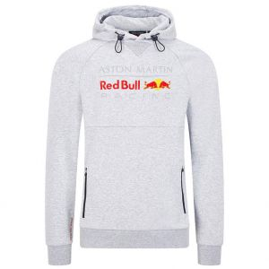 Red Bull Racing Kapuzen Sweatshirt grau