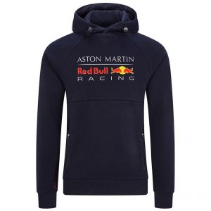 Red Bull Racing Kapuzen-Sweatshirt Marineblau