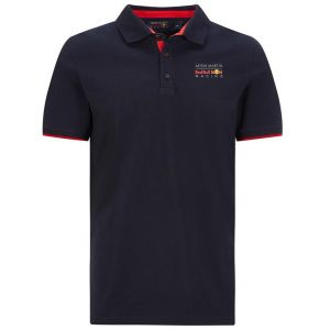 Red Bull Racing Klassisches Poloshirt dunkelblau