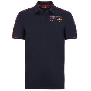 Red Bull Racing Polo de temporada azul oscuro