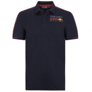 Red Bull Racing Poloshirt de la saison bleu foncé