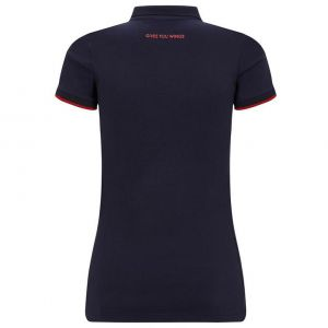 Red Bull Racing Poloshirt dames classique bleu