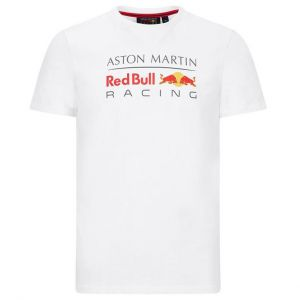 Red Bull Racing Camiseta blanca Logo
