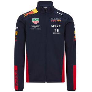 Red Bull Racing Team Sponsor Giacca Softshell blu navy