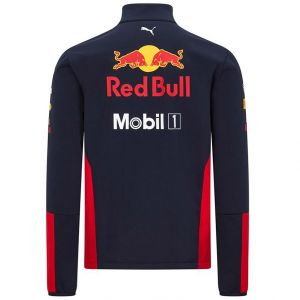 Red Bull Racing Team sponsor softshell jacket navy blue