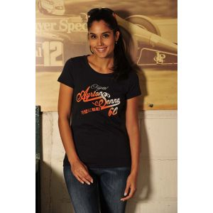 Ayrton Senna T-Shirt Ladies Original 1960 model