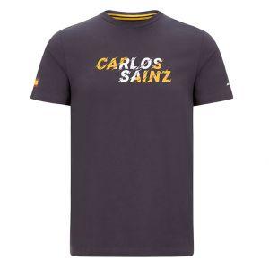 McLaren F1 Camiseta gráfica Piloto Sainz para niños antracita