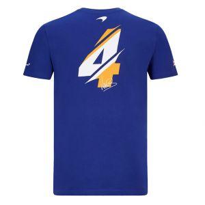 McLaren F1 T-Shirt enfant conducteur bleu