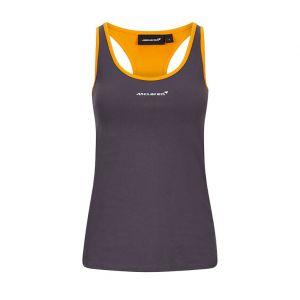 McLaren F1 Race T-shirt femmes anthracite