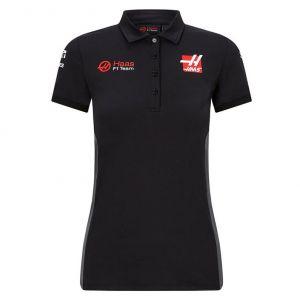 Haas F1 Team Polo Patrocinadores de mujer
