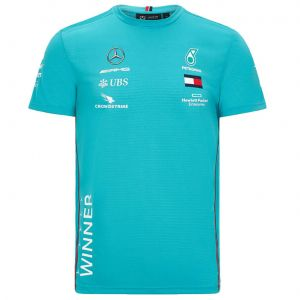 Mercedes-AMG Petronas Team race winner T-shirt green