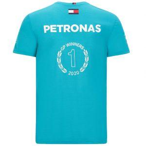 Mercedes-AMG Petronas Team T-shirt vert du vainqueur de la course