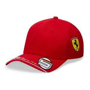 Scuderia Ferrari Gorra Piloto Vetttel roja