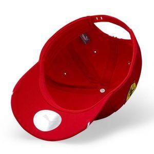 Scuderia Ferrari Pilote Cap Vettel rouge