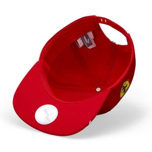 Scuderia Ferrari Driver Cap Leclerc rosso