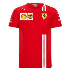 Scuderia Ferrari Masculine T-Shirt de l'équipe rouge