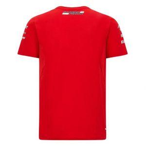 Scuderia Ferrari Herren Team T-Shirt rot