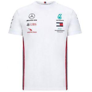 Mercedes-AMG Petronas Team Sponsor Camiseta Blanca