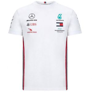Mercedes-AMG Petronas Team Sponsor T-Shirt weiß