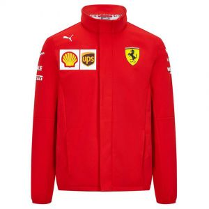 Scuderia Ferrari Team Softshell Jacket red