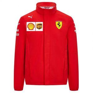 Scuderia Ferrari Team Softshell Veste rouge