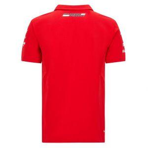 Scuderia Ferrari Team Polo da uomo Rossa