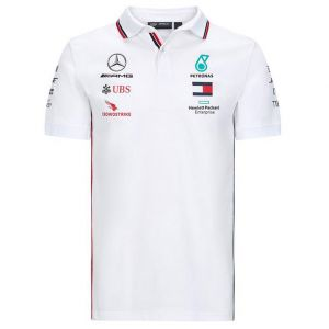 Mercedes-AMG Petronas Team Sponsor Polo blanco