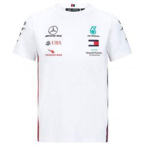 Mercedes-AMG Petronas Team Sponsor Maglietta bianca per bambini
