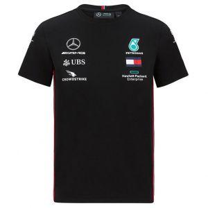 Mercedes-AMG Petronas Team Enfants Sponsor T-Shirt noir