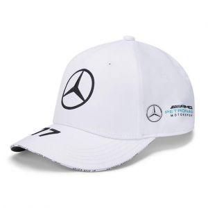 Mercedes-AMG Petronas Pilote Casquette Bottas blanc