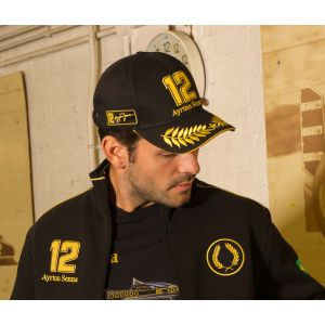 Ayrton Senna Cap JPS Lotus model