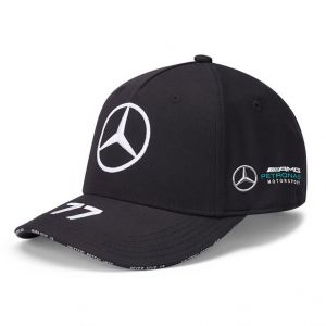 Mercedes-AMG Petronas Fahrer Cap Bottas schwarz