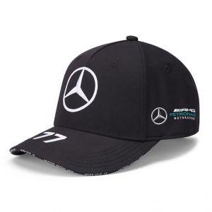 Mercedes-AMG Petronas Piloto Gorra negra Bottas