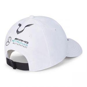Mercedes-AMG Petronas Pilote Cap Hamilton blanc