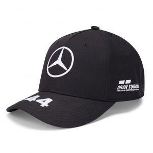 Mercedes-AMG Petronas Pilote Casquette Hamilton noir