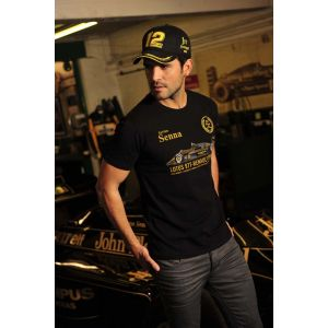 Ayrton Senna T-Shirt 1st Victory Portugal Model