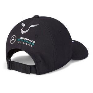 Mercedes-AMG Petronas Pilote Cap Hamilton noir