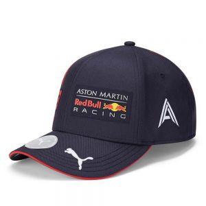 Red Bull Racing Pilote Enfants Cap Albon bleu marine