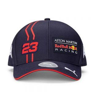 Cappellino da bambino Red Bull Racing Albon blu navy