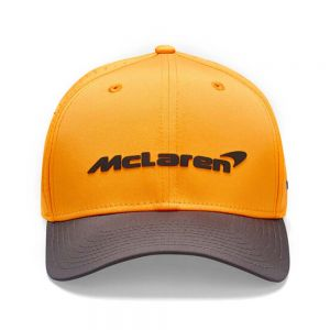 McLaren F1 Casquette Pilote 950 Sainz orange