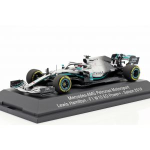 Lewis Hamilton Mercedes-AMG F1 W10 EQ #44 Formula 1 World Champion 2019 1:/3