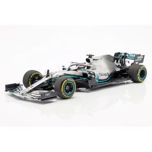 Lewis Hamilton Mercedes-AMG F1 W10 EQ #44 Champion du monde de Formule 1 2019 1/18